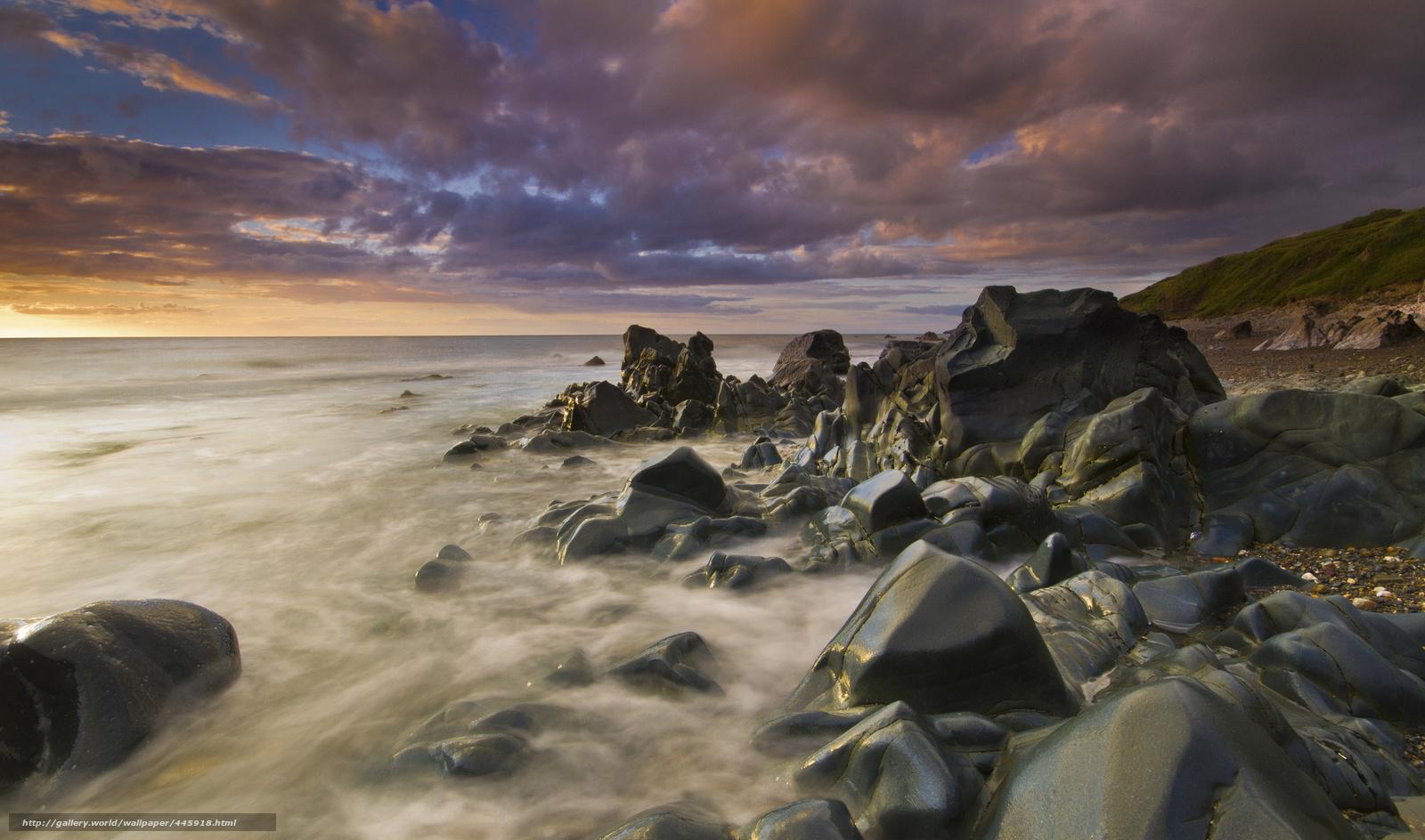 Descargar gratis cielo,  piedras,  Naturaleza,  mar Fondos de escritorio en la resolucin 2048x1208 — imagen №445918