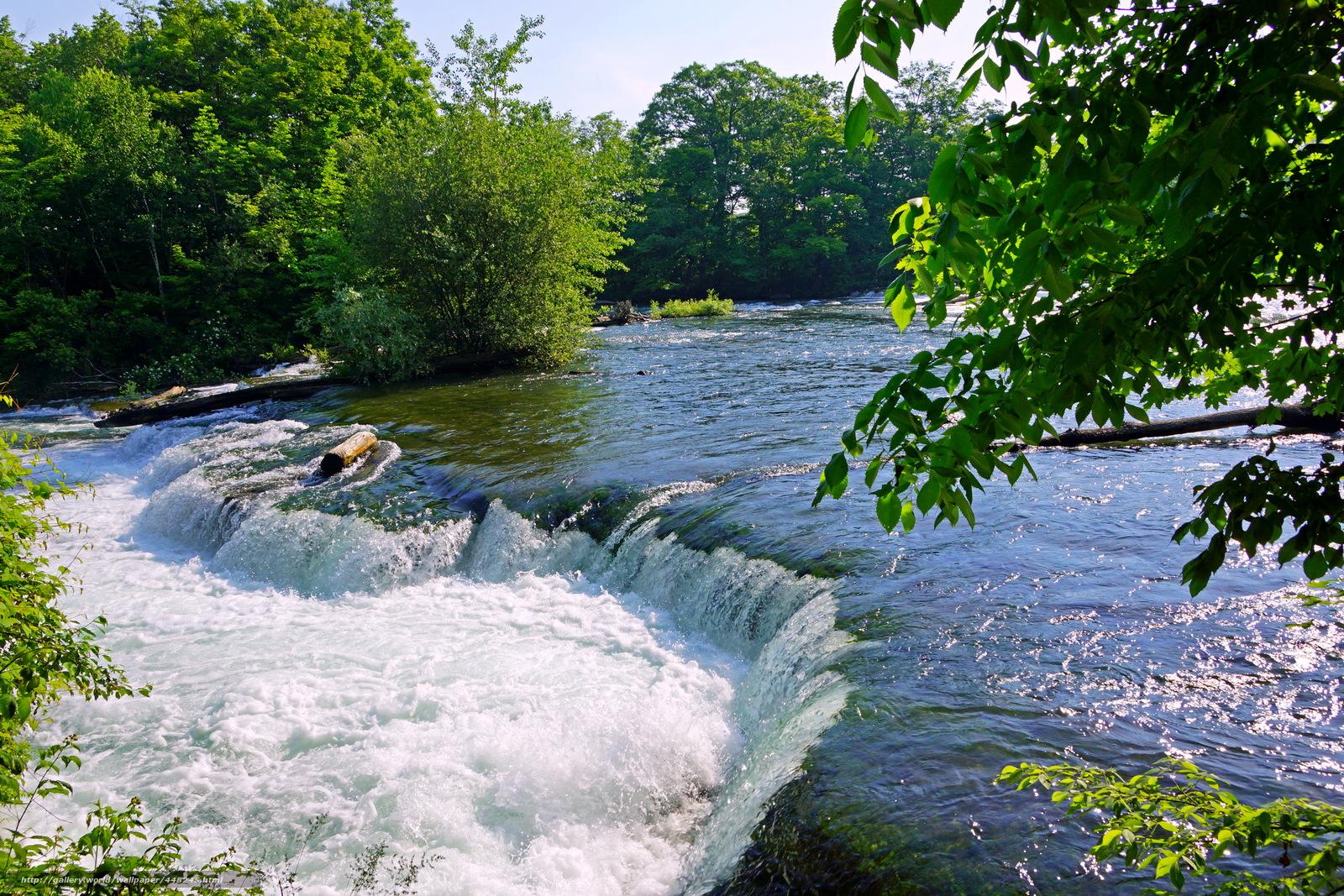 Скачать обои Водопад,  США,  Онтарио,  Ниагара бесплатно для рабочего стола в разрешении 2595x1730 — картинка №448245