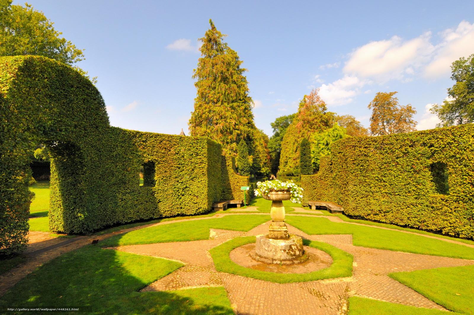 Tlcharger fond d 39 ecran jardin france jardins d 39 eyrignac - Jardin du manoir d eyrignac ...