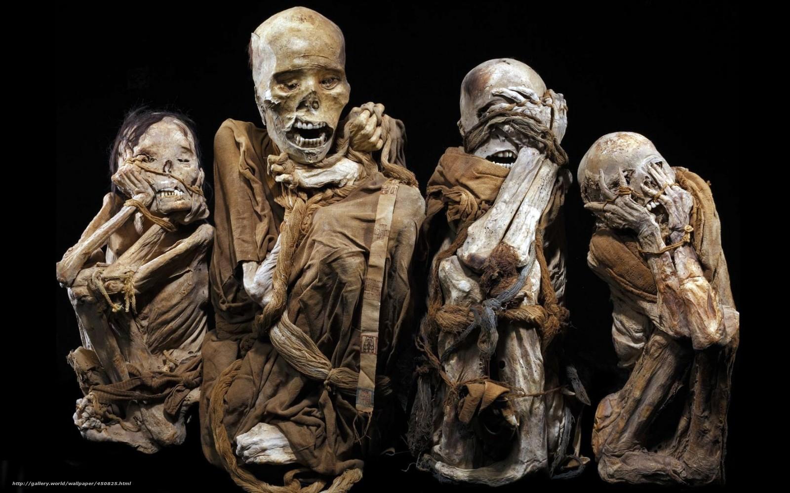 scaricare gli sfondi nero,  sfondo,  Mummia,  Scheletri Sfondi gratis per la risoluzione del desktop 1680x1050 — immagine №450825