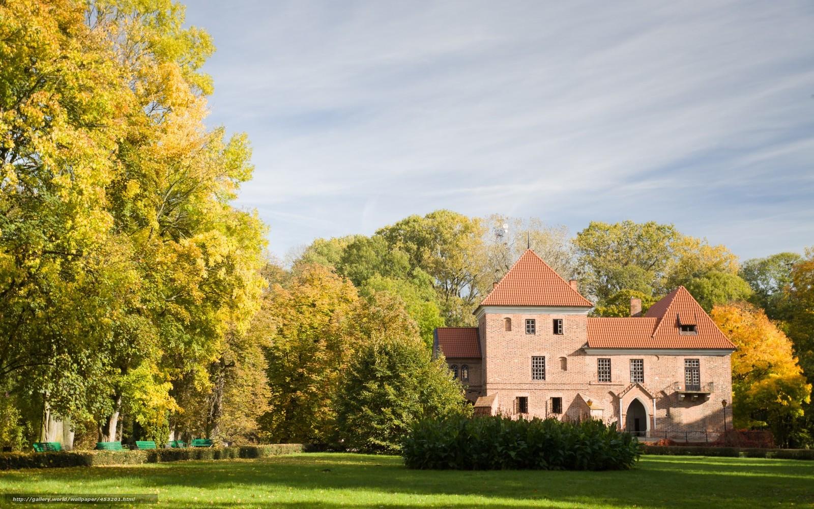 下载壁纸 Kutno,  波兰,  城堡,  建筑 免费为您的桌面分辨率的壁纸 1680x1050 — 图片 №453201