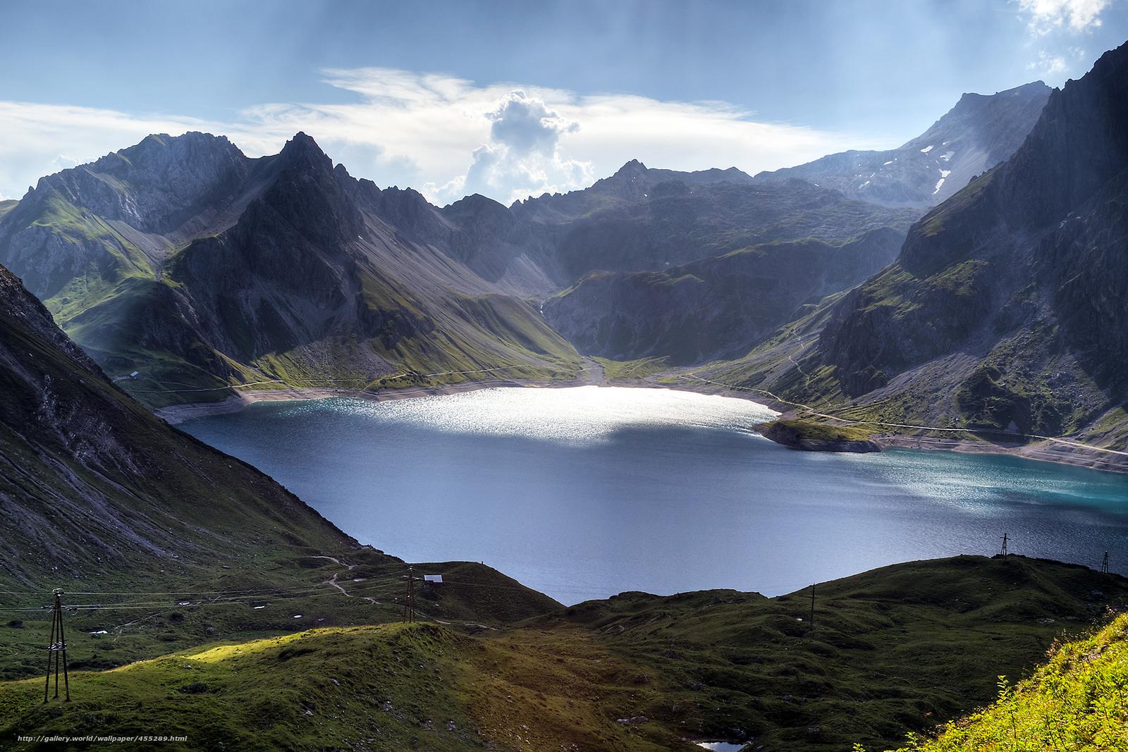 австрия горы обои на рабочий стол № 546376 бесплатно