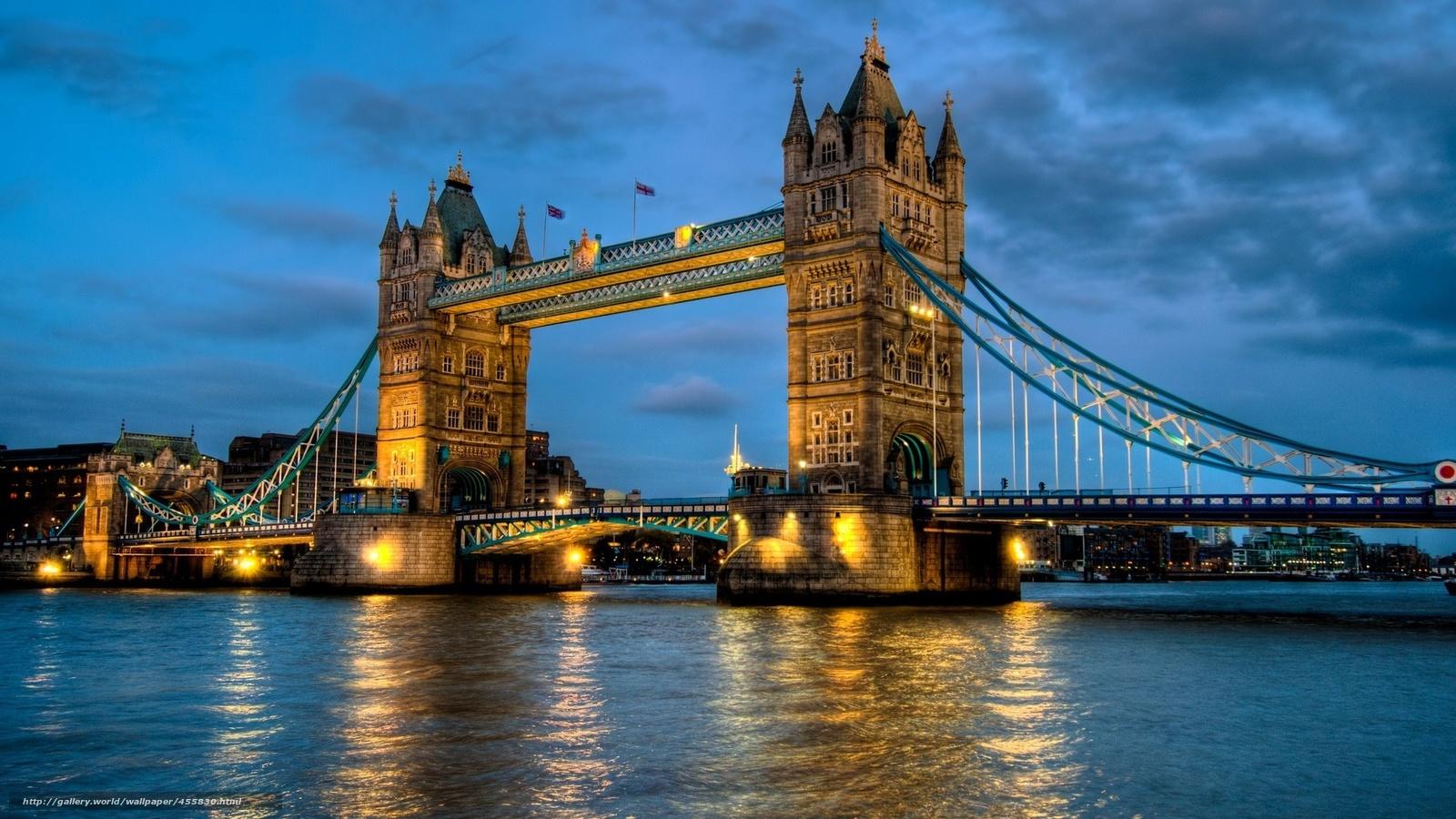 Descargar gratis Londres,  uk,  Puente de la Torre,  Londres Fondos de escritorio en la resolucin 1920x1080 — imagen №455830