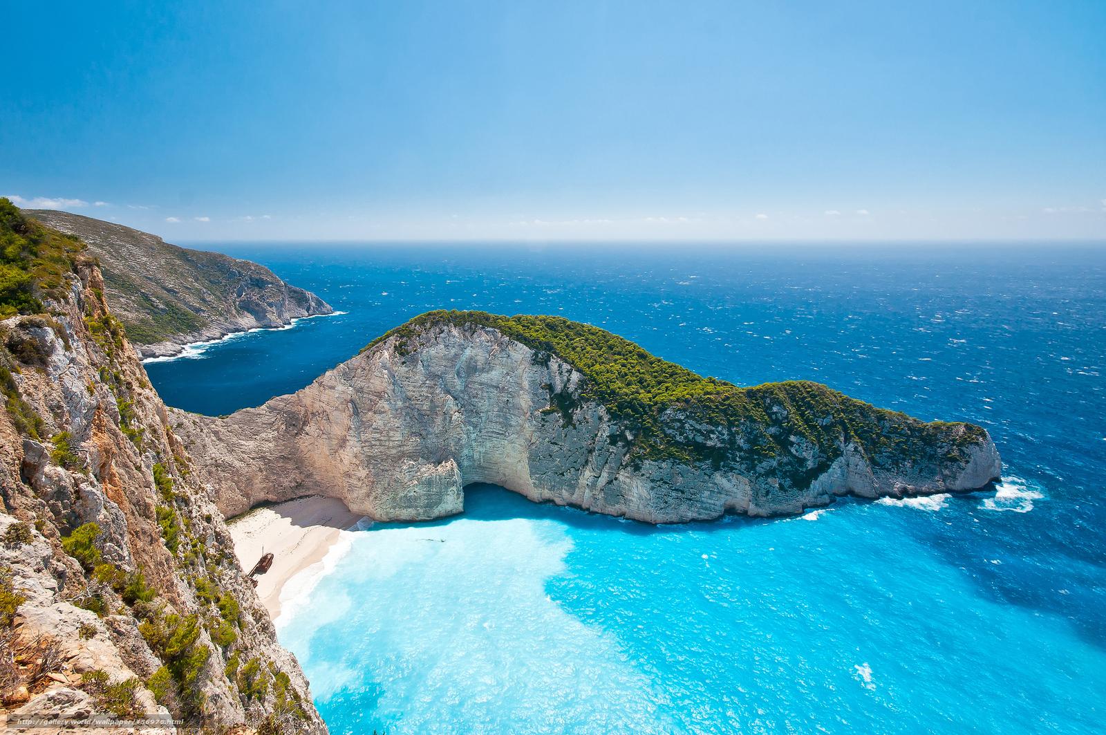 Scaricare Gli Sfondi Grecia Isole Ionie Mare Estate Sfondi Gratis