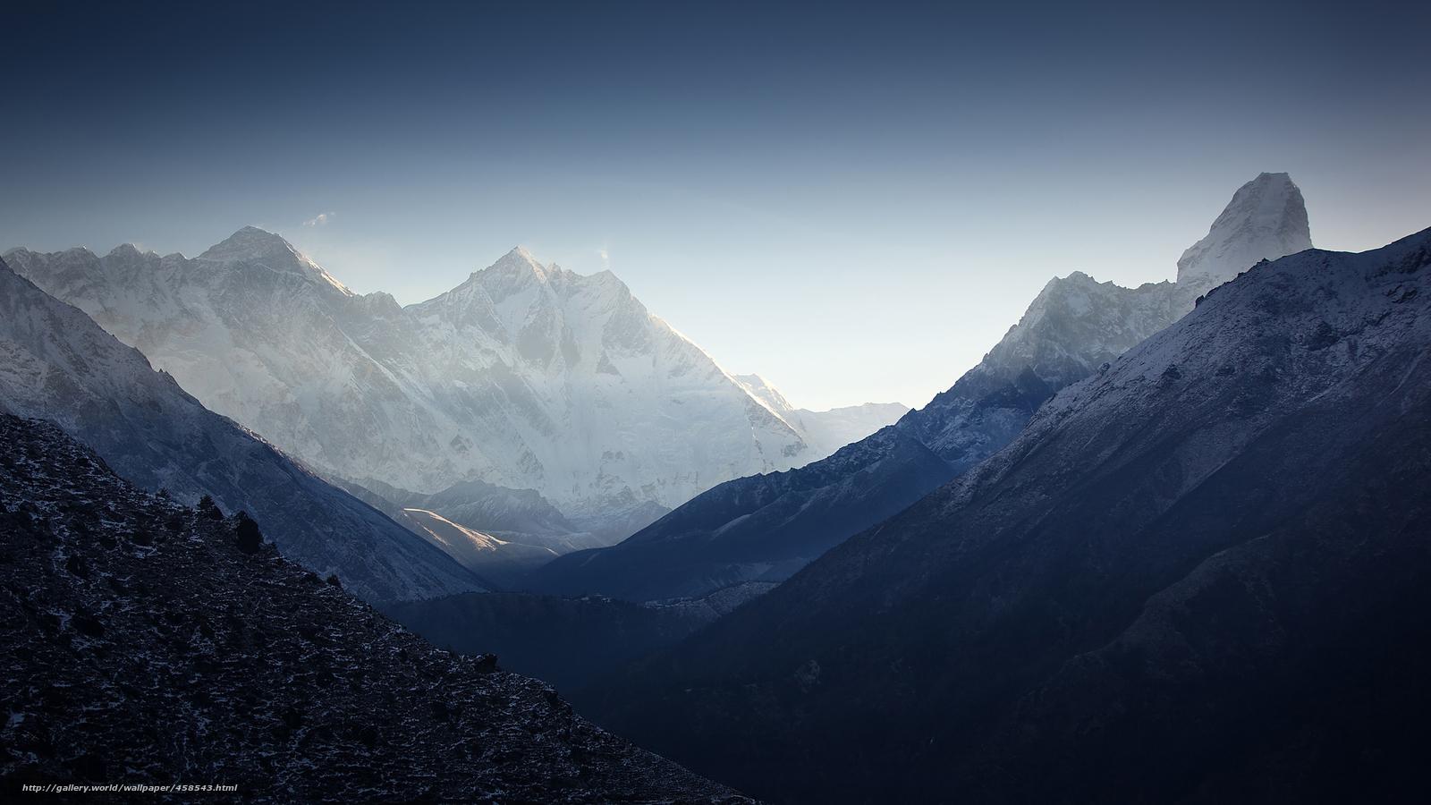 壁紙をダウンロード 山地 ヒマラヤ山脈 デスクトップの解像度のための無料壁紙 48x1152 絵