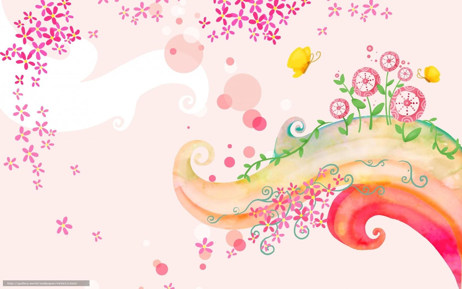 descargar gratis fondos de pantalla de los nios rizo mariposa flores fondos de escritorio en la resolucin x u imagen