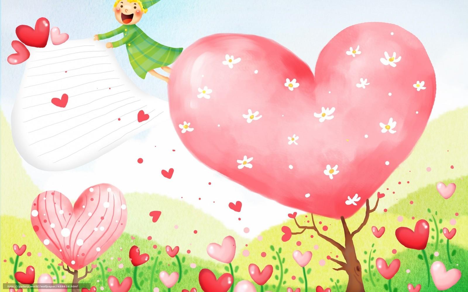 Carta Da Parati Bambini Love: Scaricare Gli Sfondi Carta Da Parati Per Bambini, Fiori