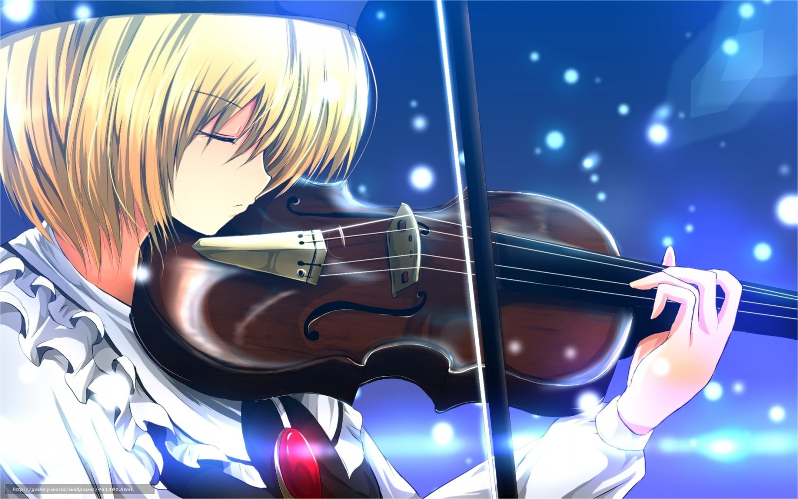 Download Wallpaper Art Musical Instrument Violin Girl Free Desktop In The Resolution 1680x1050 Picture No461391