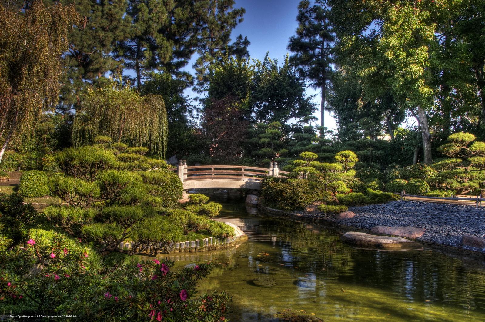 Tlcharger fond d 39 ecran jardin earl burns miller japonais for Paysage jardin japonais