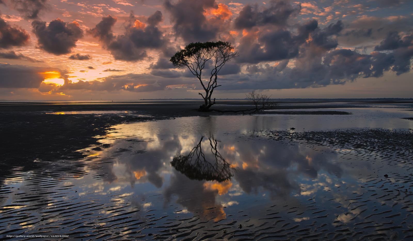 Descargar gratis Australia,  cielo,  puesta del sol Fondos de escritorio en la resolucin 2048x1196 — imagen №463019