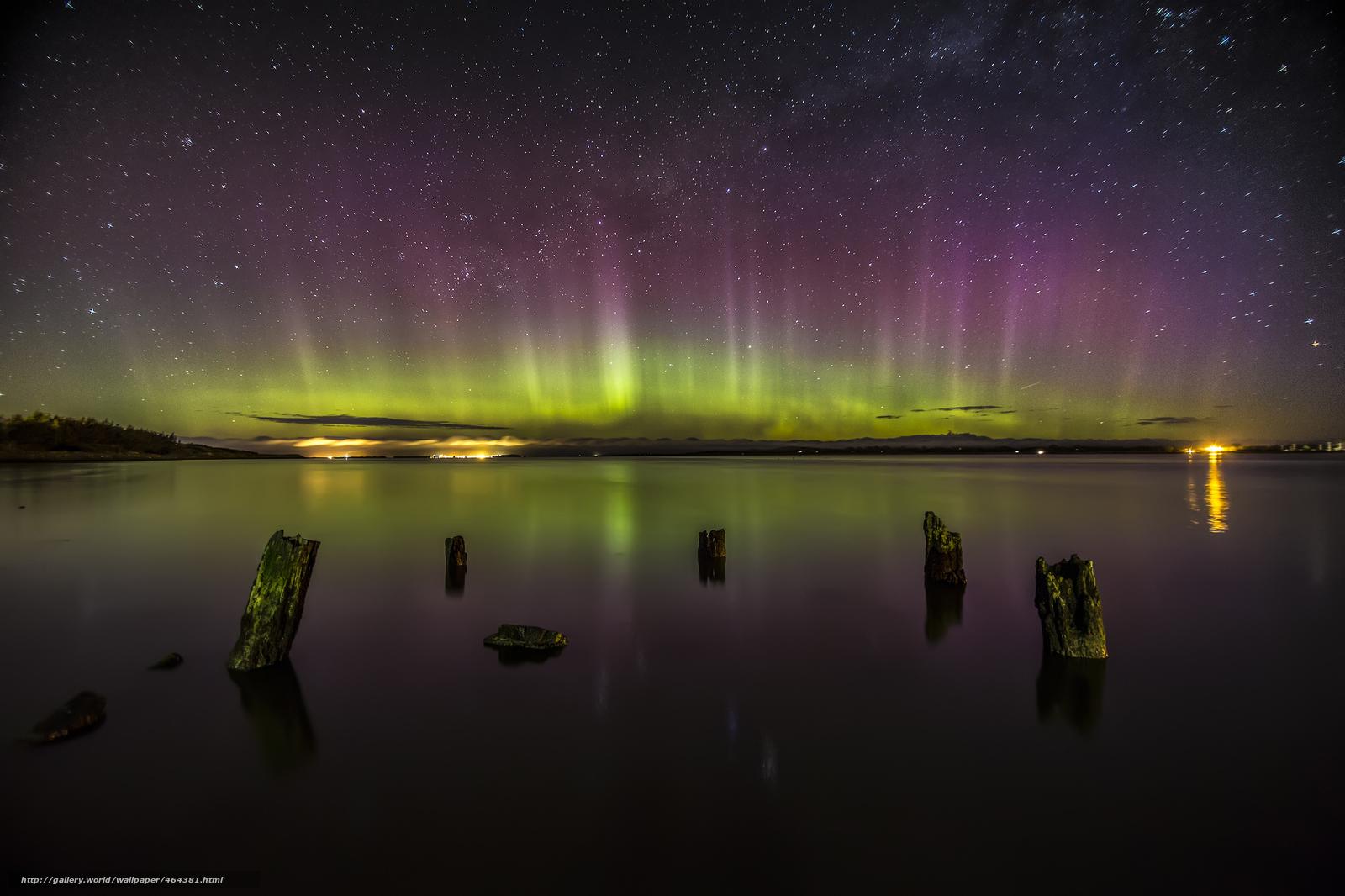 Scaricare gli sfondi mare acqua notte cielo sfondi for Sfondi desktop aurora boreale