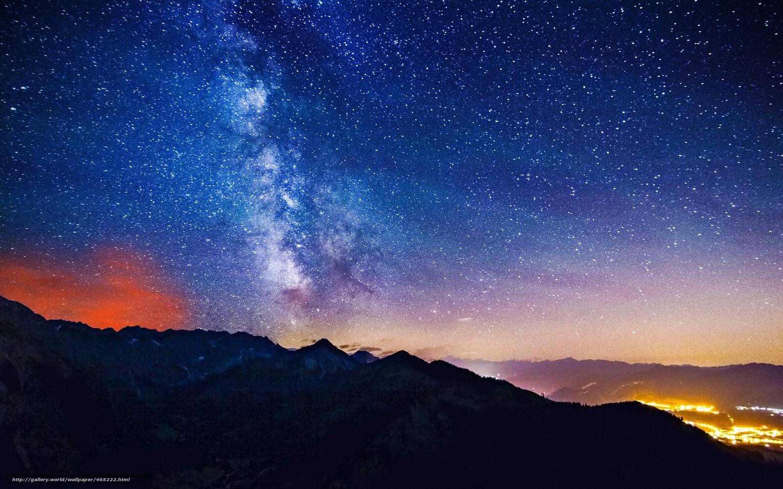 scaricare gli sfondi stelle,  alba,  Via Lattea,  Via Lattea Sfondi gratis per la risoluzione del desktop 3840x2400 — immagine №465222