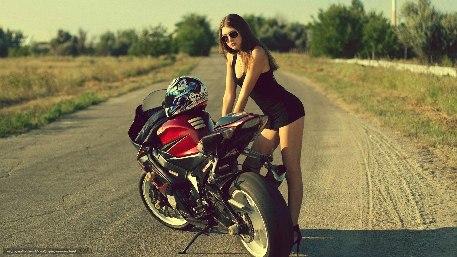 Tlcharger Fond Decran Moto Route Fille Suzuki Fonds