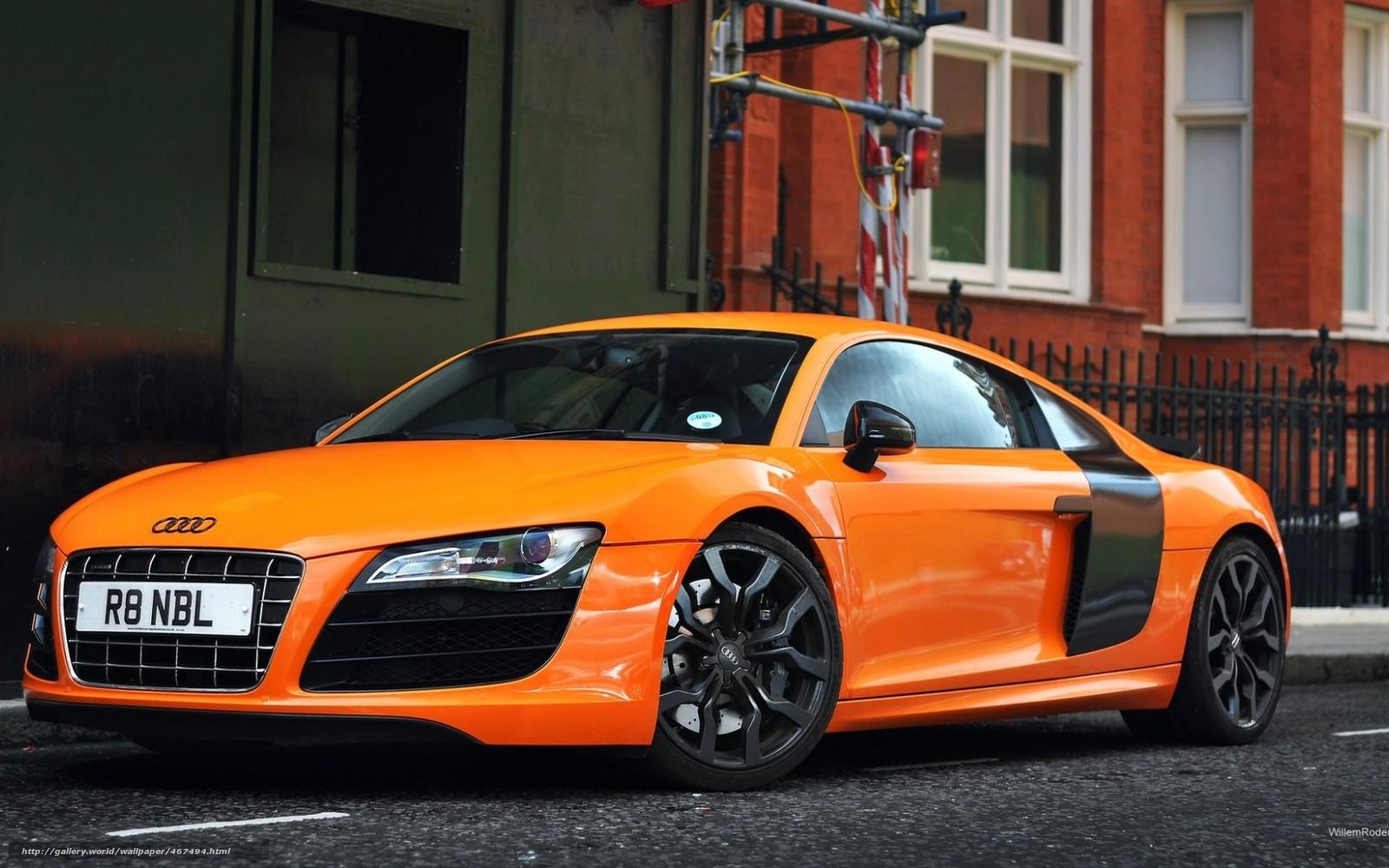 Tlcharger Fond d'ecran voiture, Papier peint, Orange, Audi Fonds d'ecran gratuits pour votre ...