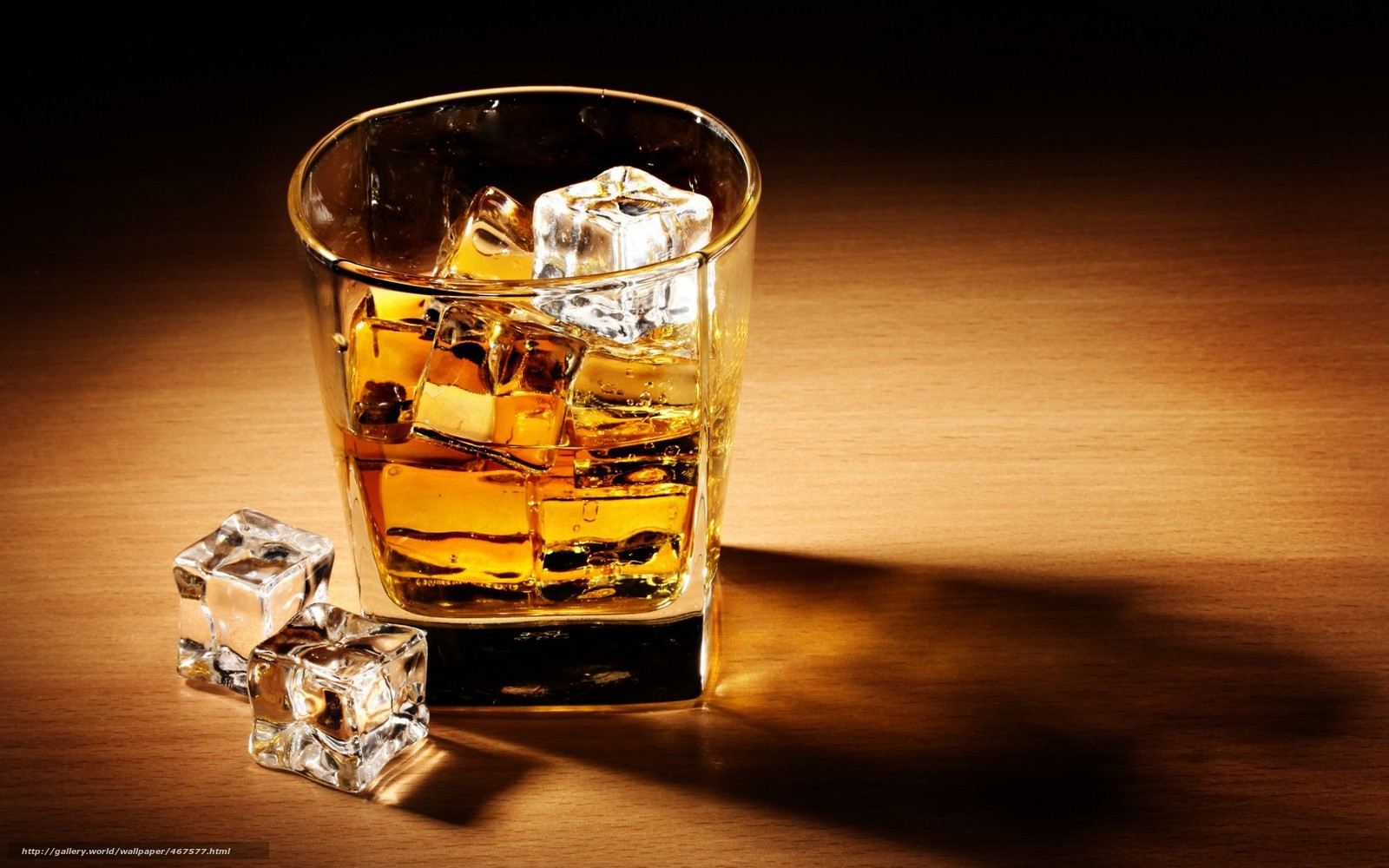 Download wallpaper whiskey,  drink,  alcohol,  ice free desktop wallpaper in the resolution 1680x1050 — picture №467577