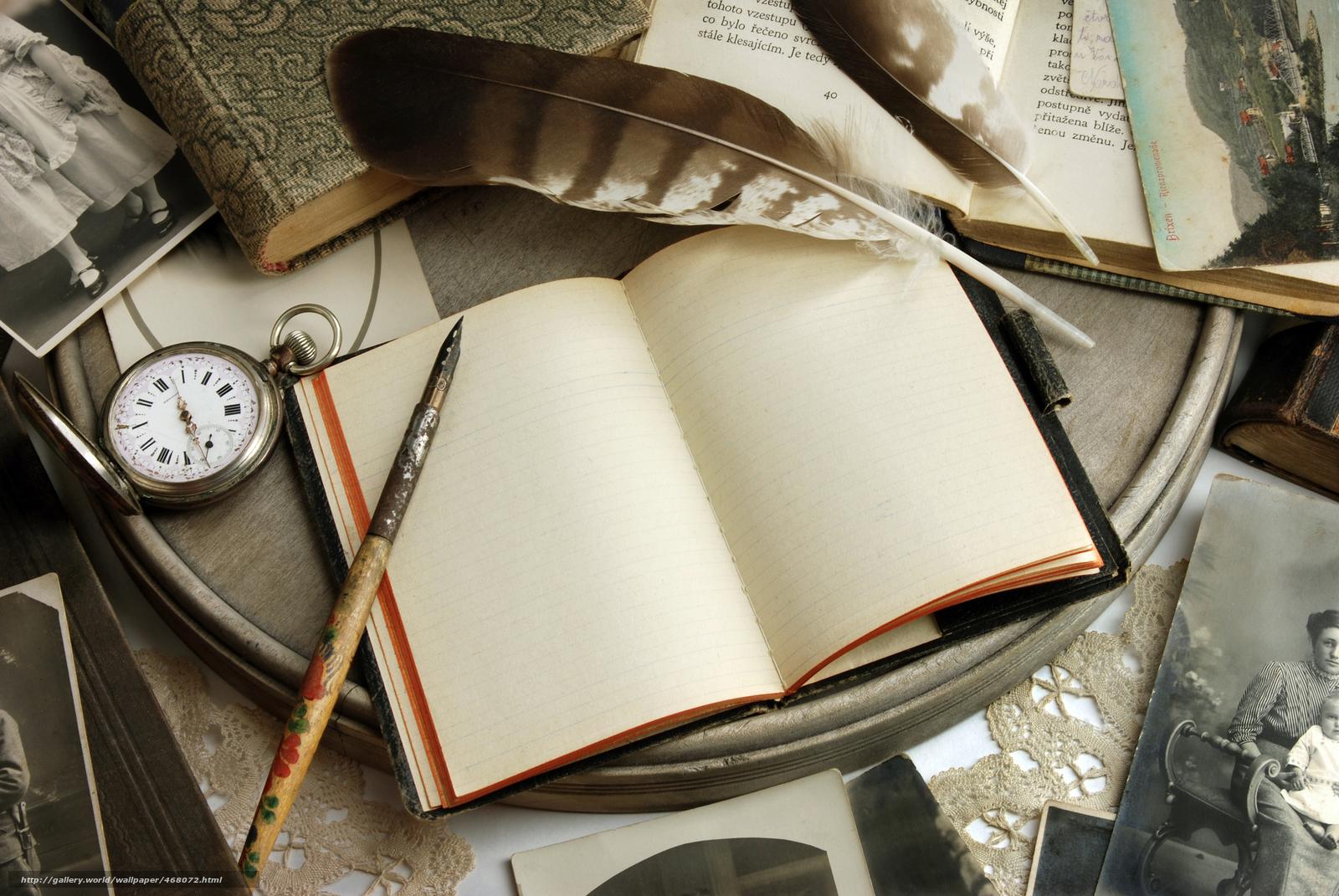 Descargar gratis Cosecha,  retro,  cuaderno,  Libros Fondos de escritorio en la resolucin 2767x1852 — imagen №468072