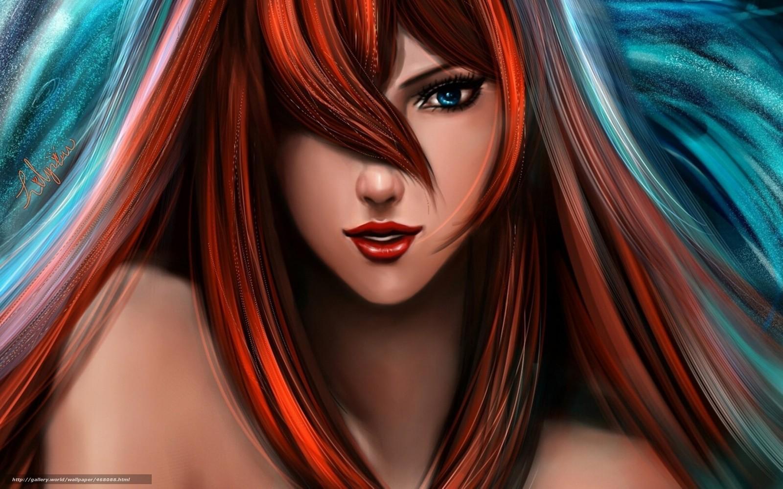 Картинка волосы для фотошопа - dfd