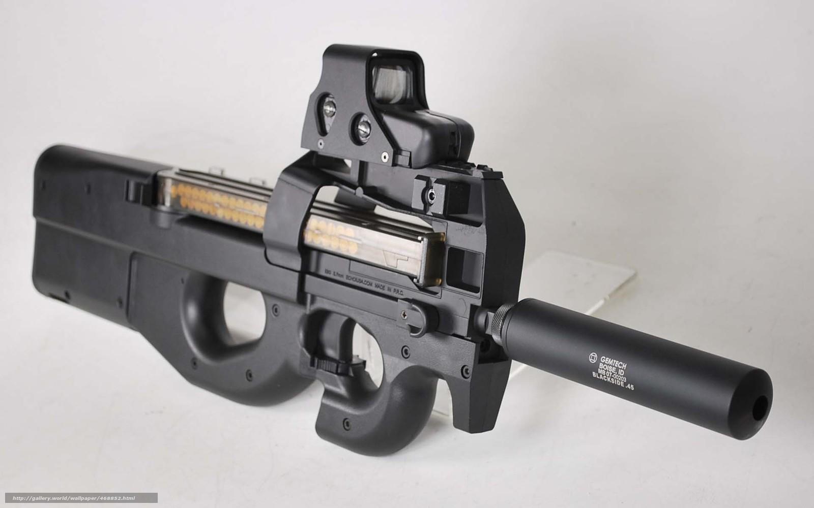 Download wallpaper Belgian,  Gun Gun,  personal defense weapon,  developed free desktop wallpaper in the resolution 1920x1200 — picture №468852