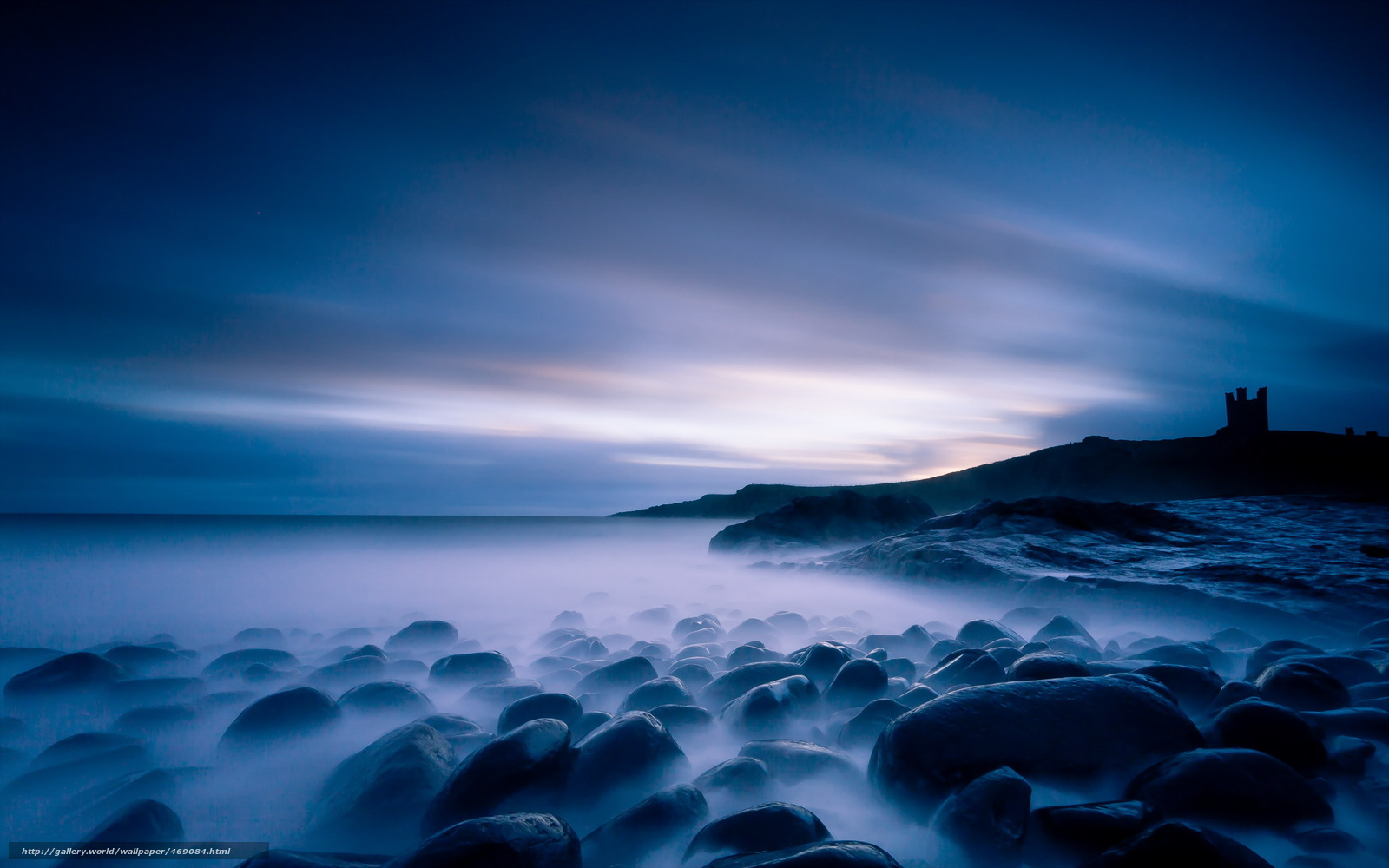 Sea At Night 4K HD Desktop Wallpaper for 4K Ultra HD TV