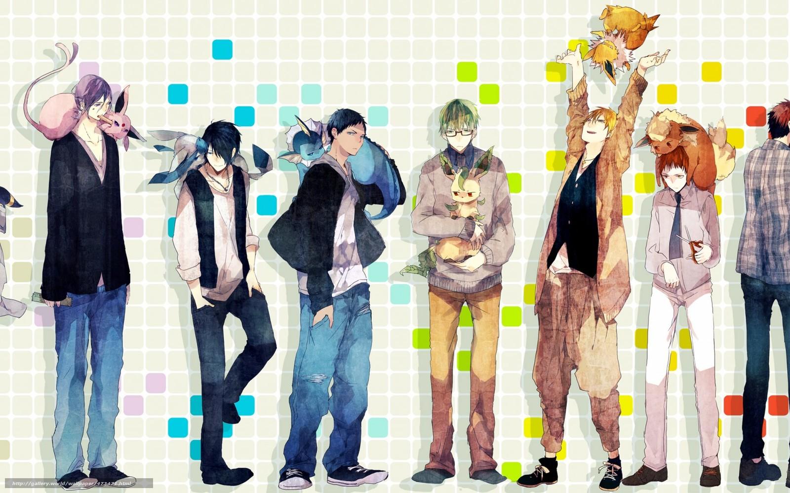 descargar gratis arte anime baloncesto kuroko los nios fondos de escritorio en la resolucin x u imagen
