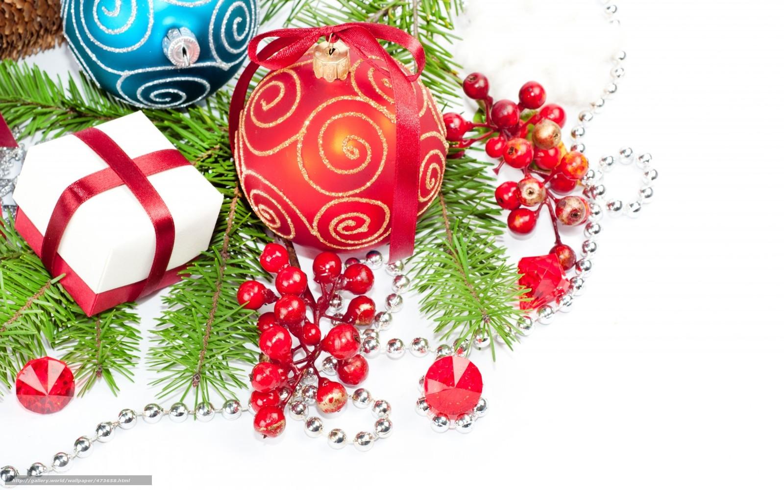 Download wallpaper Balls,  Berries,  Tree,  branch free desktop wallpaper in the resolution 1680x1050 — picture №473658
