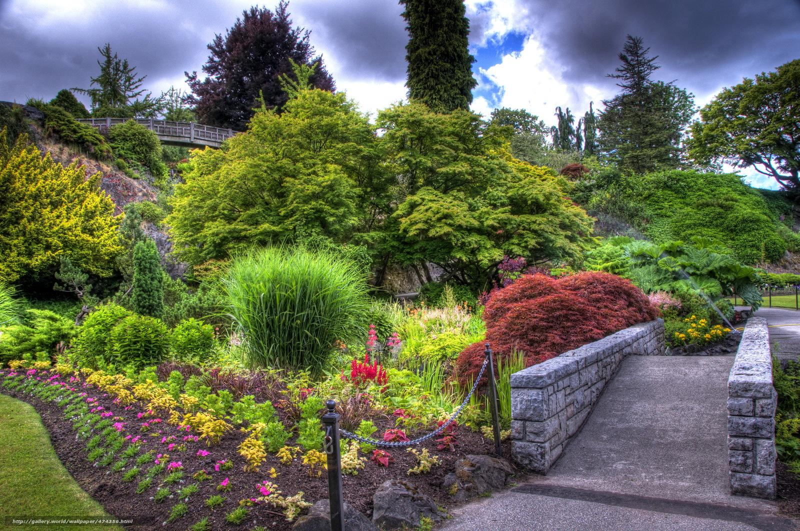 scaricare gli sfondi giardino,  aiuole,  traccia,  paesaggio Sfondi gratis per la risoluzione del desktop 2290x1520 — immagine №474356