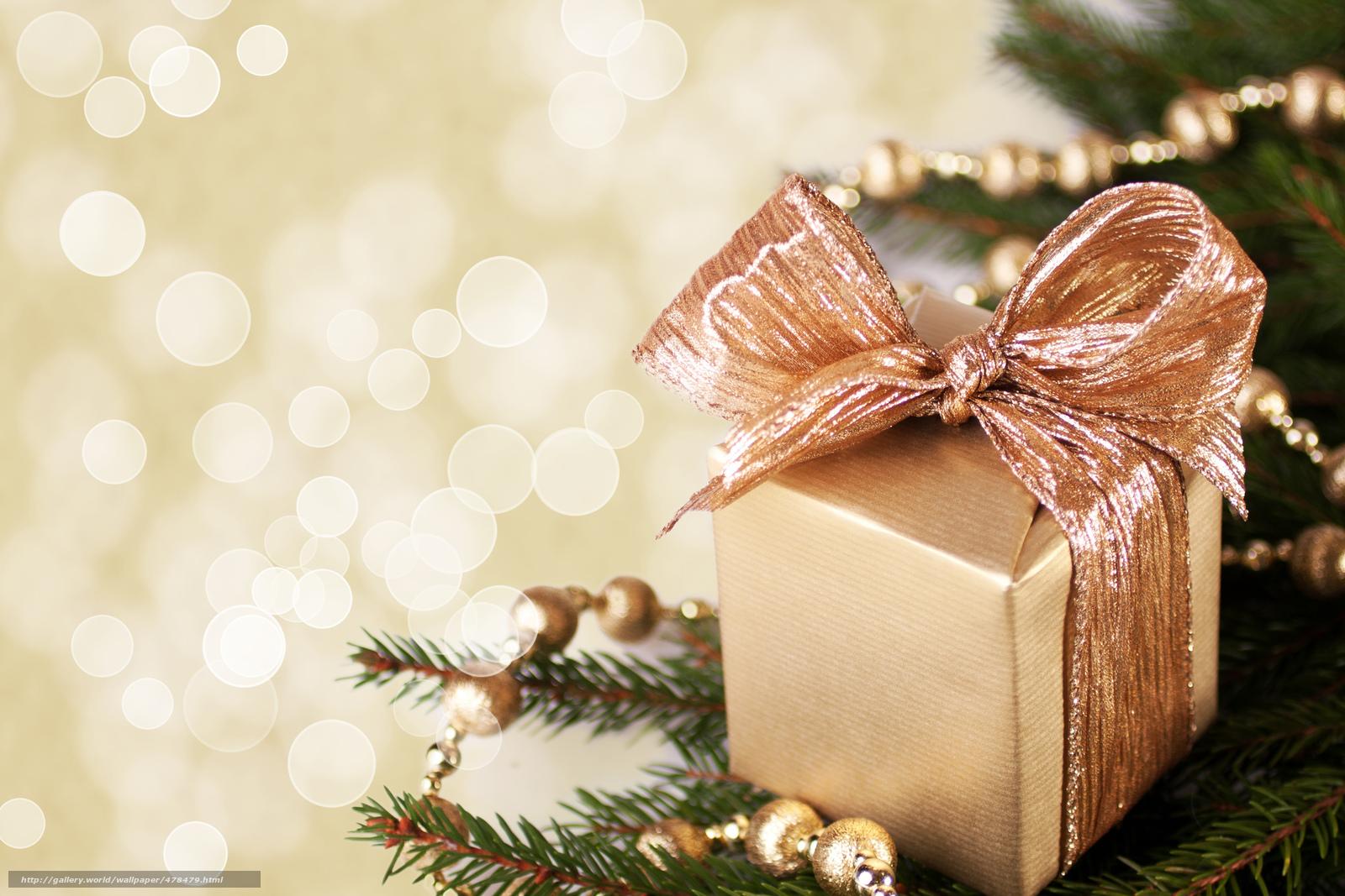 Скачать обои подарок,  коробочка,  коробка,  золотая бесплатно для рабочего стола в разрешении 7068x4712 — картинка №478479