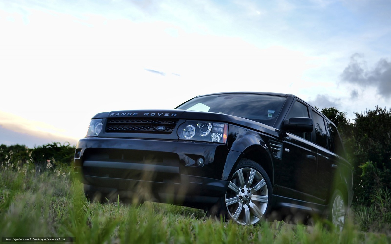 Black Range Rover Sport Wallpaper: Download Wallpaper Range Rover, Land Rover, Sport, Black