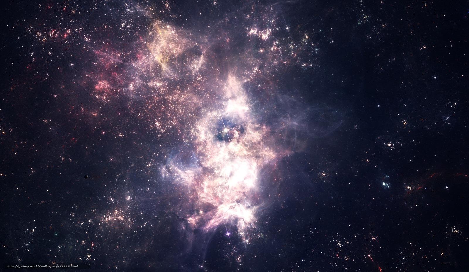 Download wallpaper space, Star, star cluster, nebula free ...