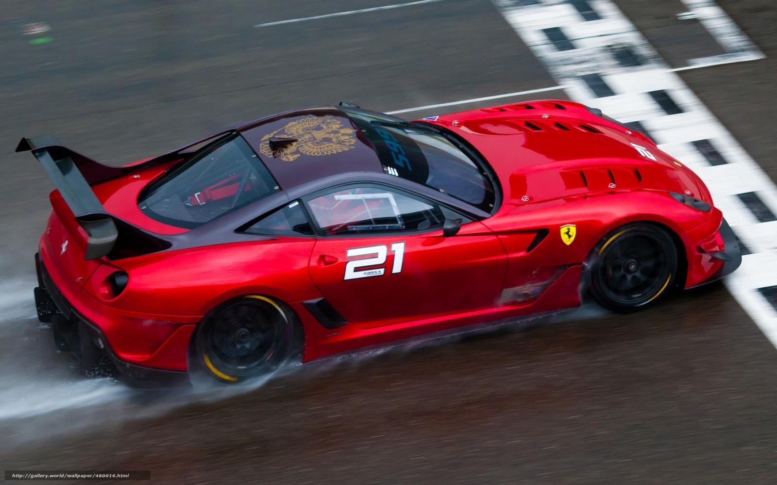 Tlcharger Fond D Ecran Ferrari Rouge Course Piste Fonds