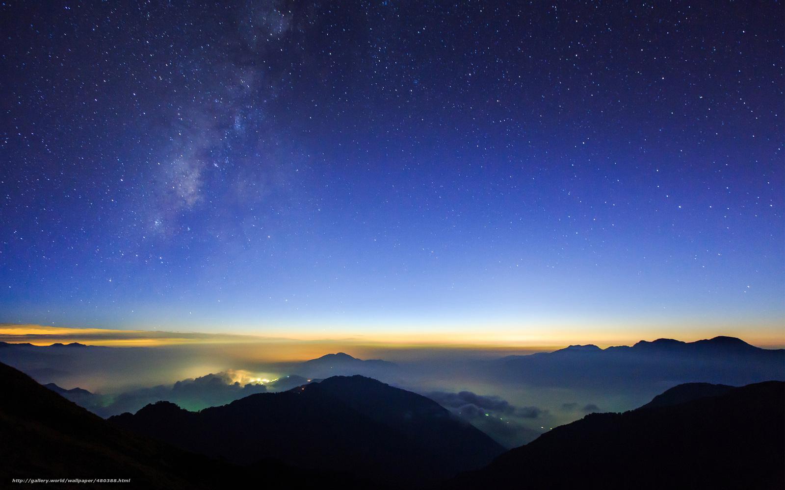 Scaricare Gli Sfondi Notte Vista Stella Cielo Stellato Sfondi