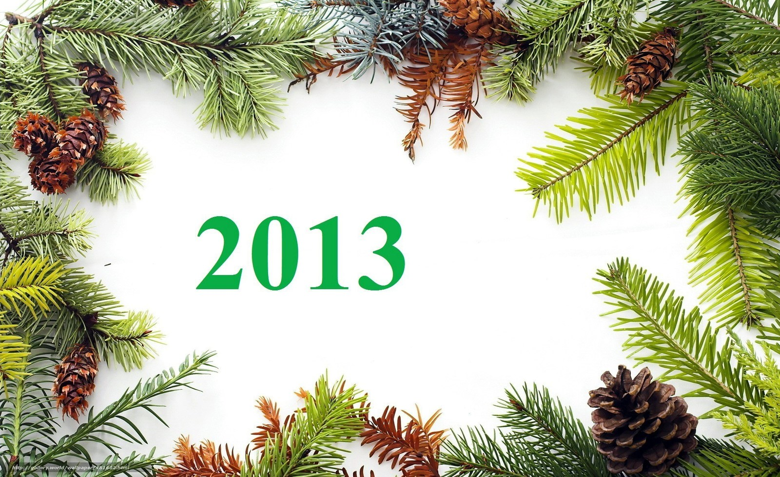 Download wallpaper New Year,  Cones,  New Year free desktop wallpaper in the resolution 1920x1176 — picture №481602