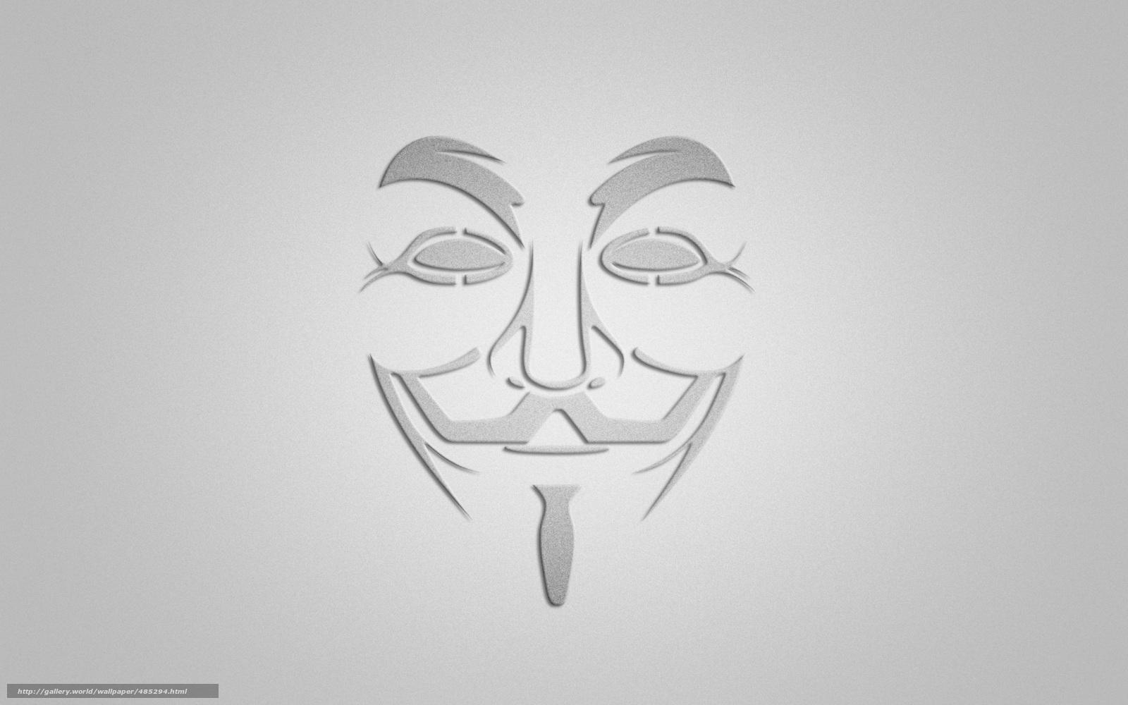 Descargar gratis v - Vendetta,  V de Vendetta,  mscara,  sonrer Fondos de escritorio en la resolucin 1920x1200 — imagen №485294