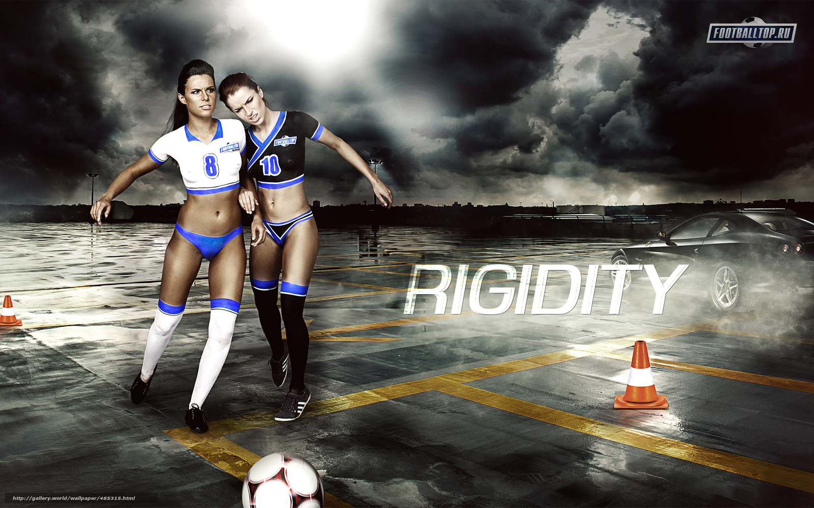 wallpapers of girl football - photo #13