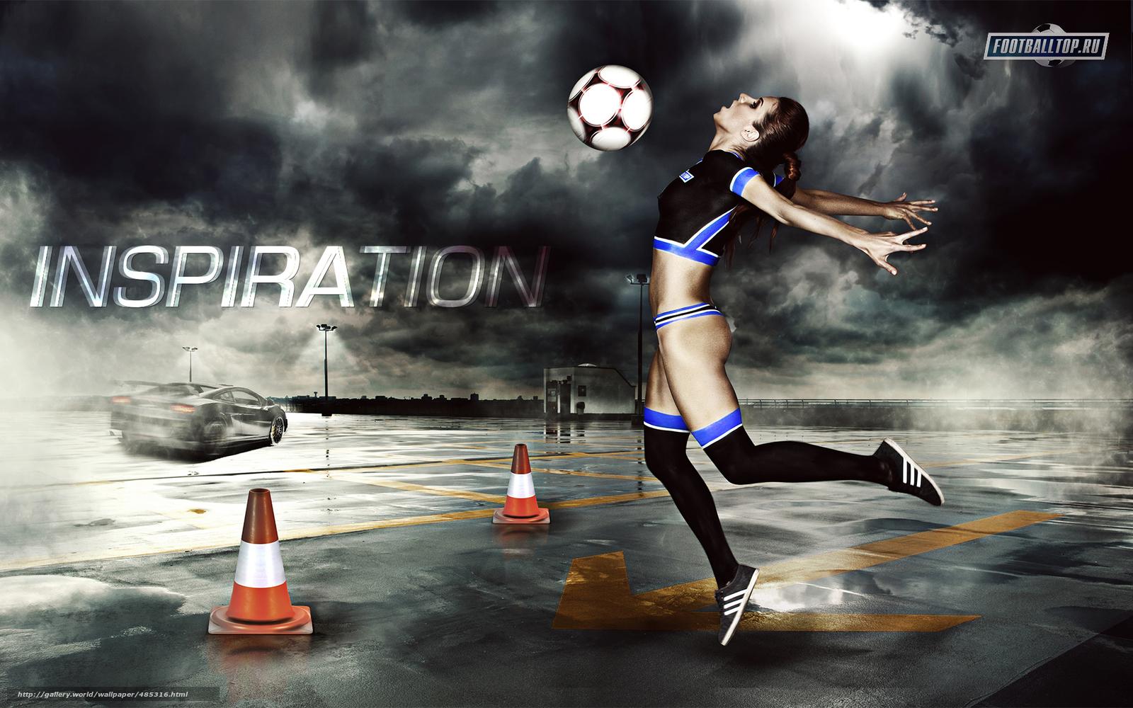 Soccer Girls Wallpaper Free: Tlcharger Fond D'ecran Sport, Football, Les Filles Fonds D