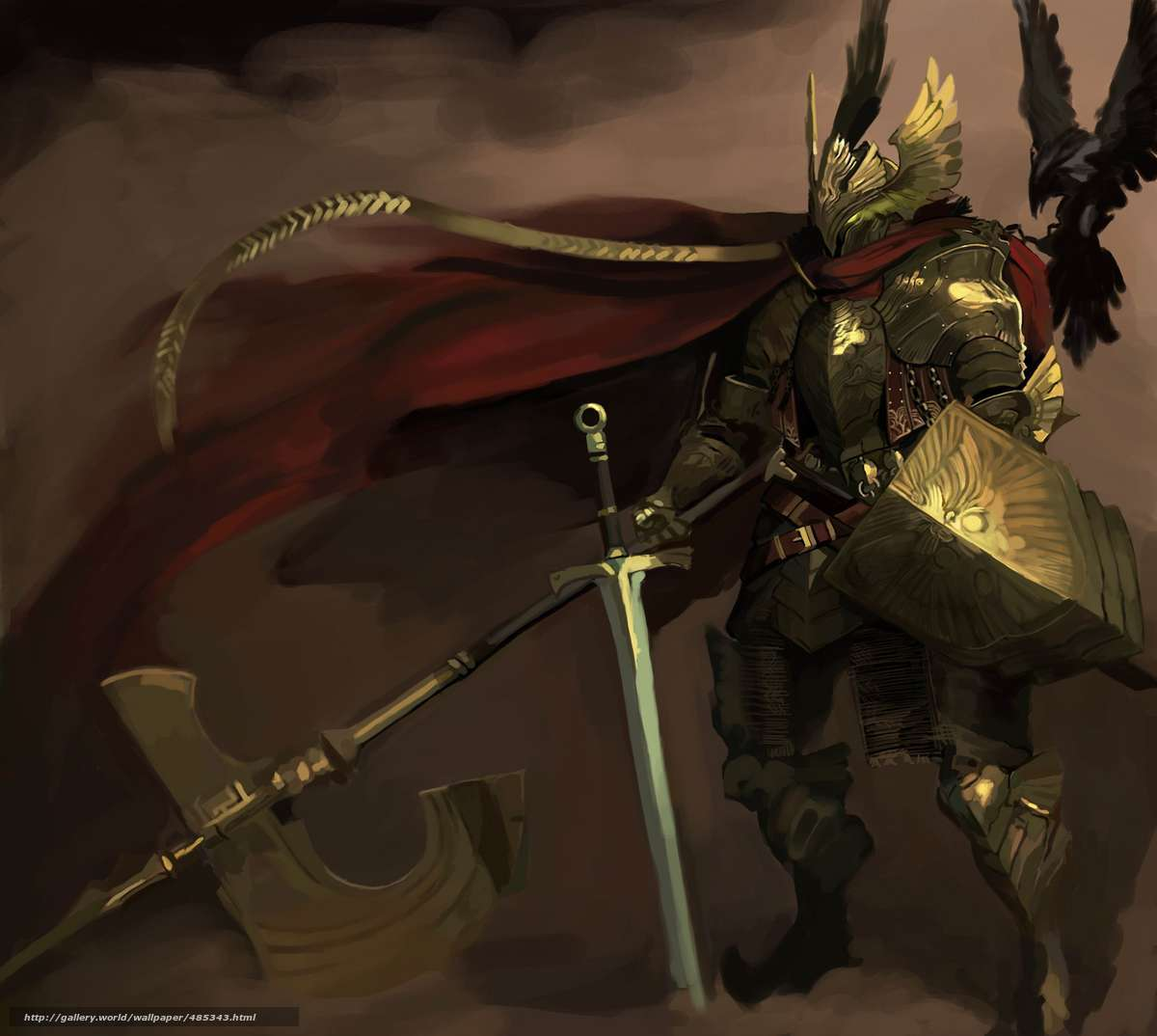 Download wallpaper kai,  knight,  shit free desktop wallpaper in the resolution 1200x1074 — picture №485343