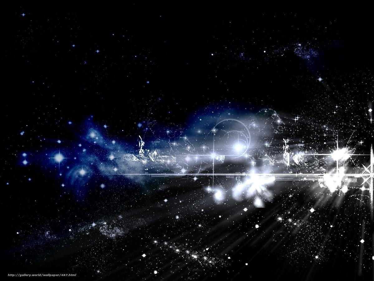 Descargar gratis cielo,  Estrella,  Abstraccin Fondos de escritorio en la resolucin 1600x1200 — imagen №487