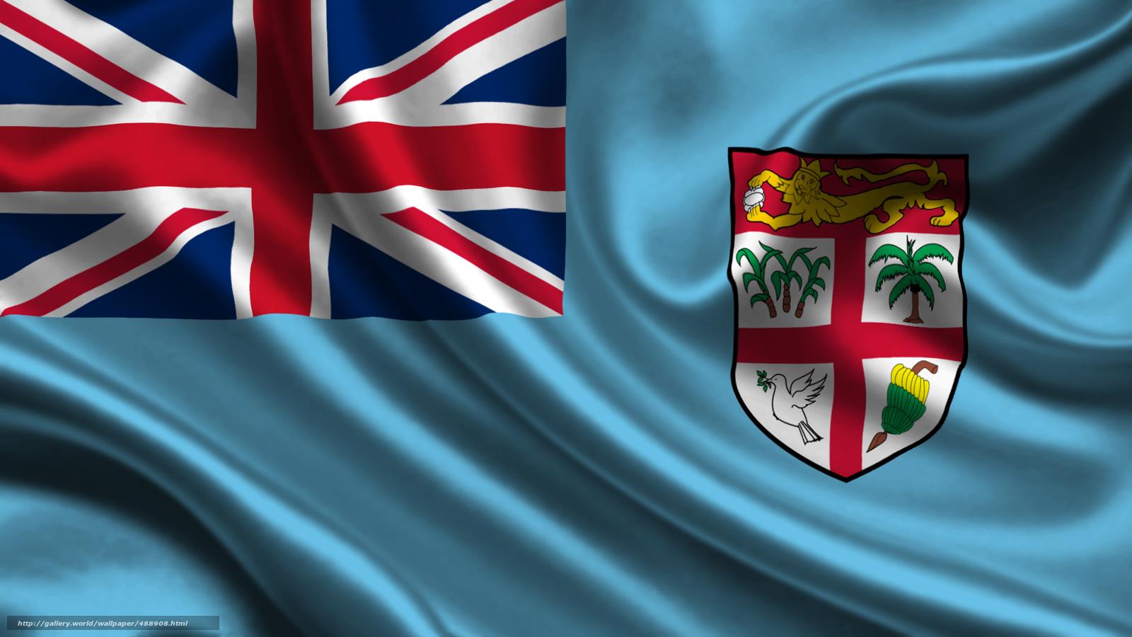 Download wallpaper fiji,  satin,  flag,  Fiji free desktop wallpaper in the resolution 1920x1080 — picture №488908