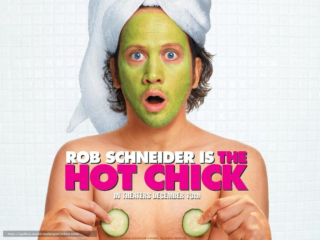 Скачать обои Цыпочка,  The Hot Chick,  фильм,  кино бесплатно для рабочего стола в разрешении 1024x768 — картинка №4900