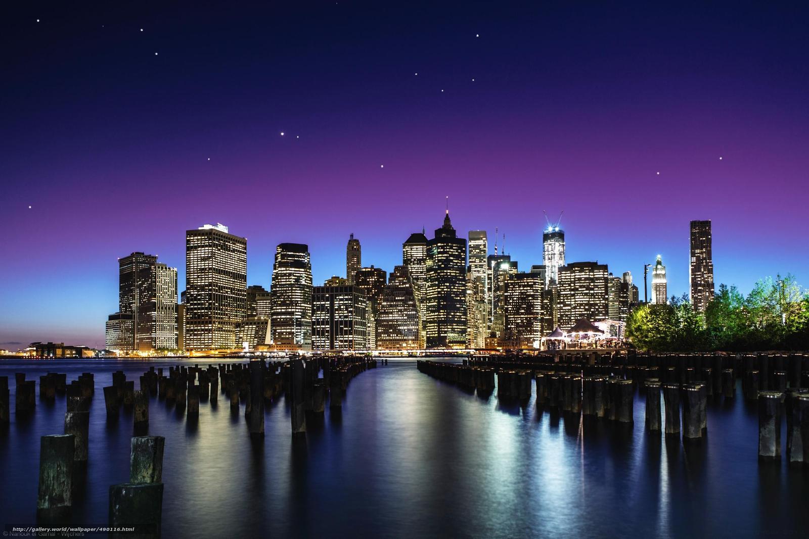 tlcharger fond d 39 ecran ville new york ciel star fonds d 39 ecran gratuits pour votre rsolution. Black Bedroom Furniture Sets. Home Design Ideas