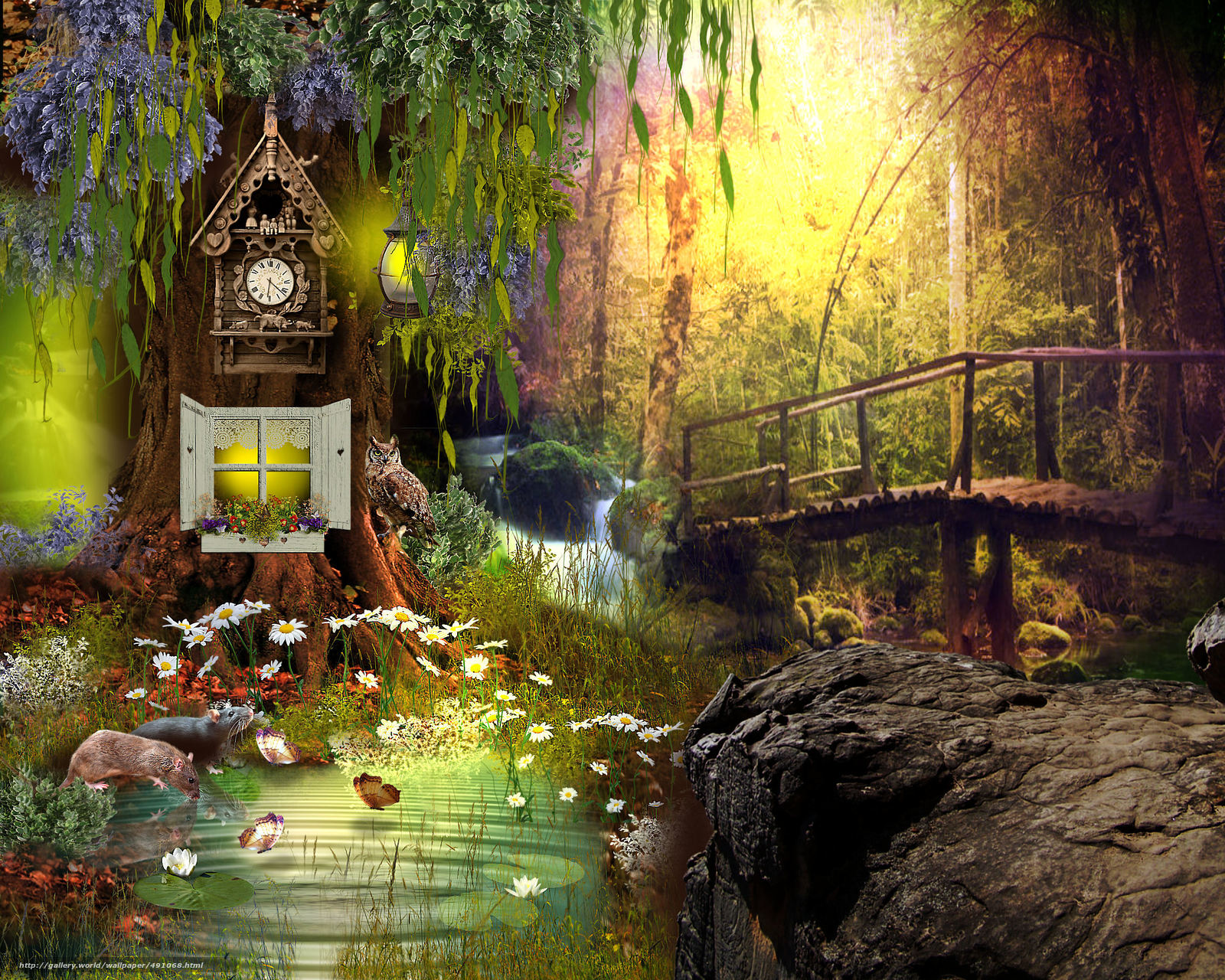 Tlcharger fond d 39 ecran 3d nature fanasmagoriya fonds d for Image nature hd pour pc