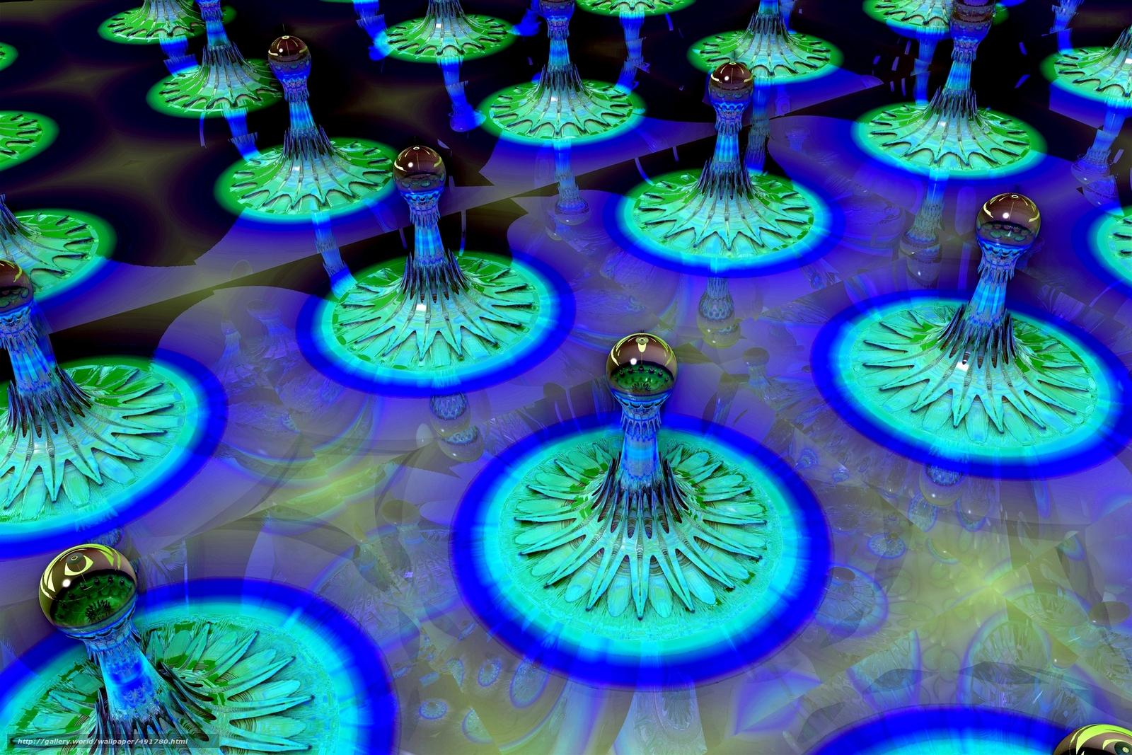 Скачать обои digital art,  fractal,  3d,  фон бесплатно для рабочего стола в разрешении 3000x2000 — картинка №491780