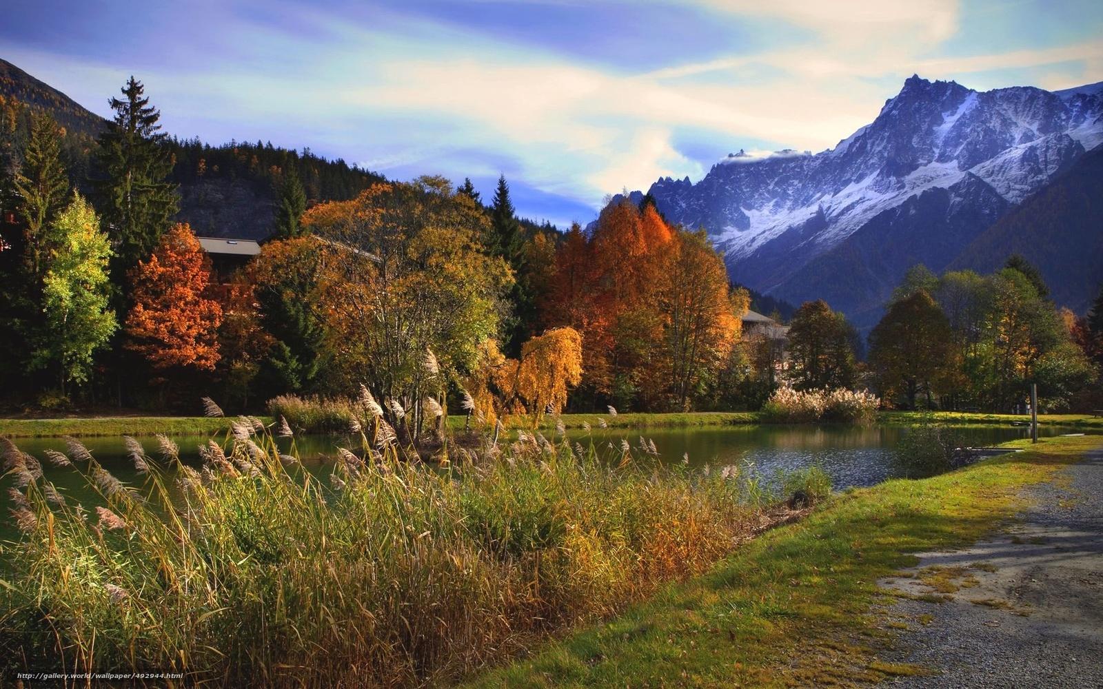 tlcharger fond d 39 ecran automne montagnes tang paysage fonds d 39 ecran gratuits pour votre. Black Bedroom Furniture Sets. Home Design Ideas