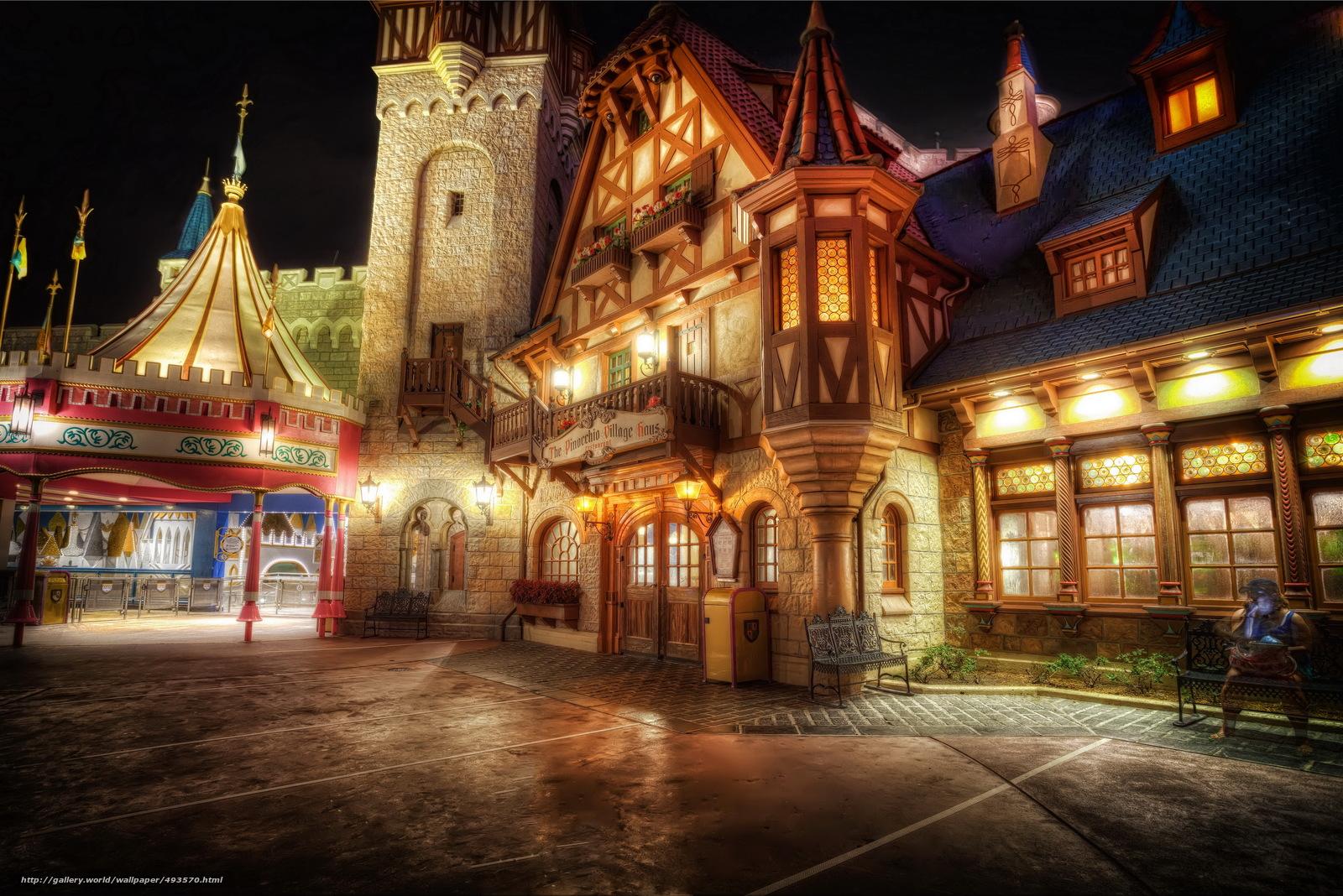 scaricare gli sfondi Stati Uniti d'America,  Disneyland,  casa,  California Sfondi gratis per la risoluzione del desktop 4592x3064 — immagine №493570