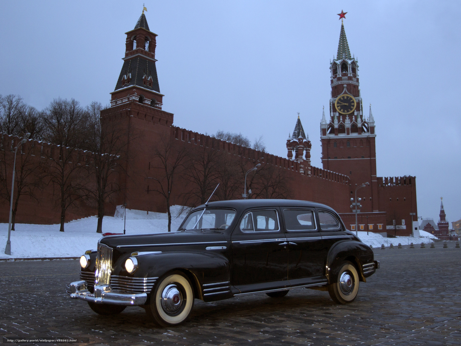 Download wallpaper ZIS 110,  1945-58,  machine,  Kremlin free desktop wallpaper in the resolution 2048x1536 — picture №495082