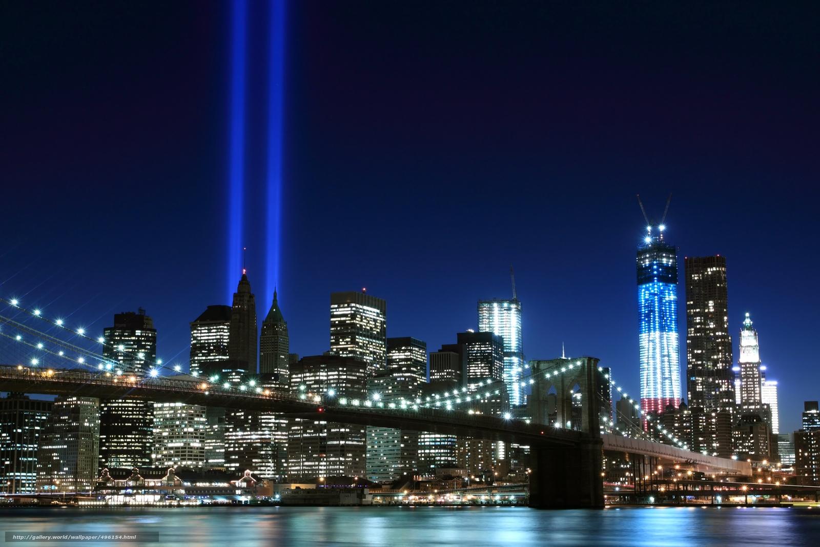 Download wallpaper brooklyn bridge,  new york city,  nyc,  USA free desktop wallpaper in the resolution 4560x3040 — picture №496154