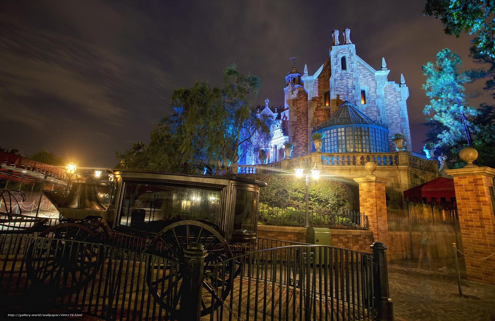 scaricare gli sfondi Stati Uniti d'America,  Disneyland,  allenatore,  California Sfondi gratis per la risoluzione del desktop 3072x1995 — immagine №496178