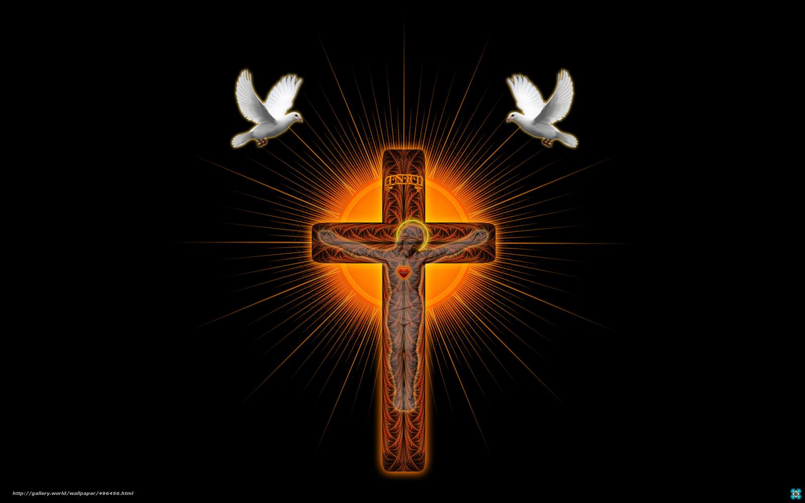 3 crosses wallpaper