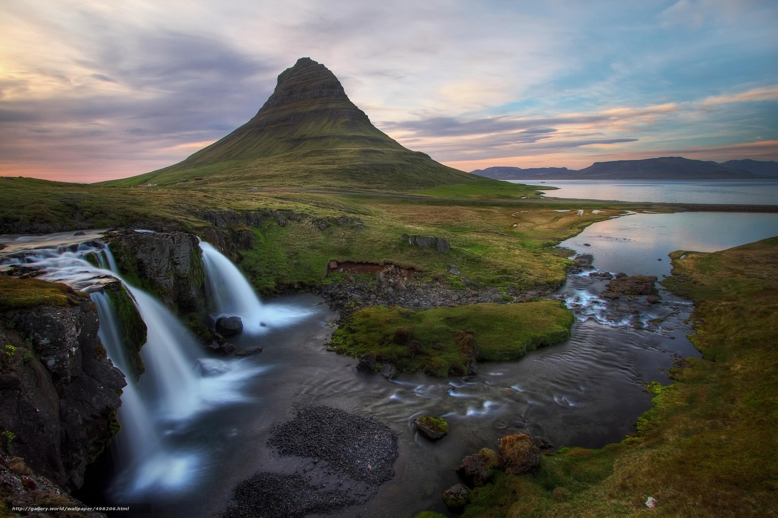 Download wallpaper Iceland,  sea,  bay,  river free desktop wallpaper in the resolution 2048x1365 — picture №498206