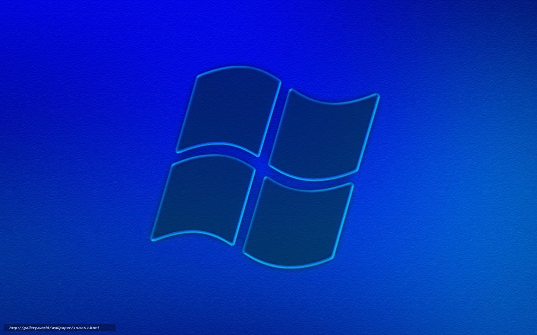 Скачать обои виндовс,  синее,  фон бесплатно для рабочего стола в разрешении 1440x900 — картинка №498257